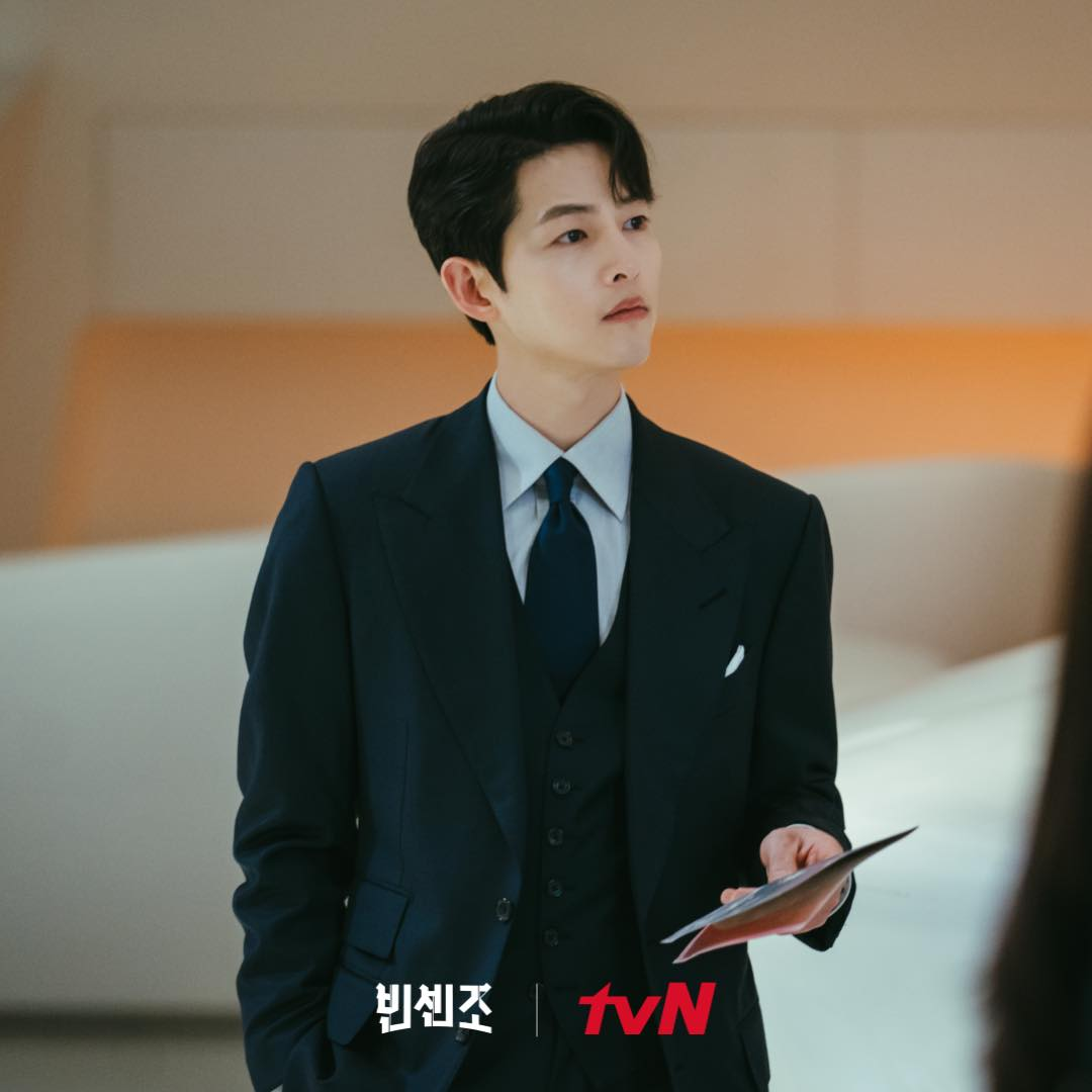 song joong-ki the youngest son of a chaebol family - vincenzo