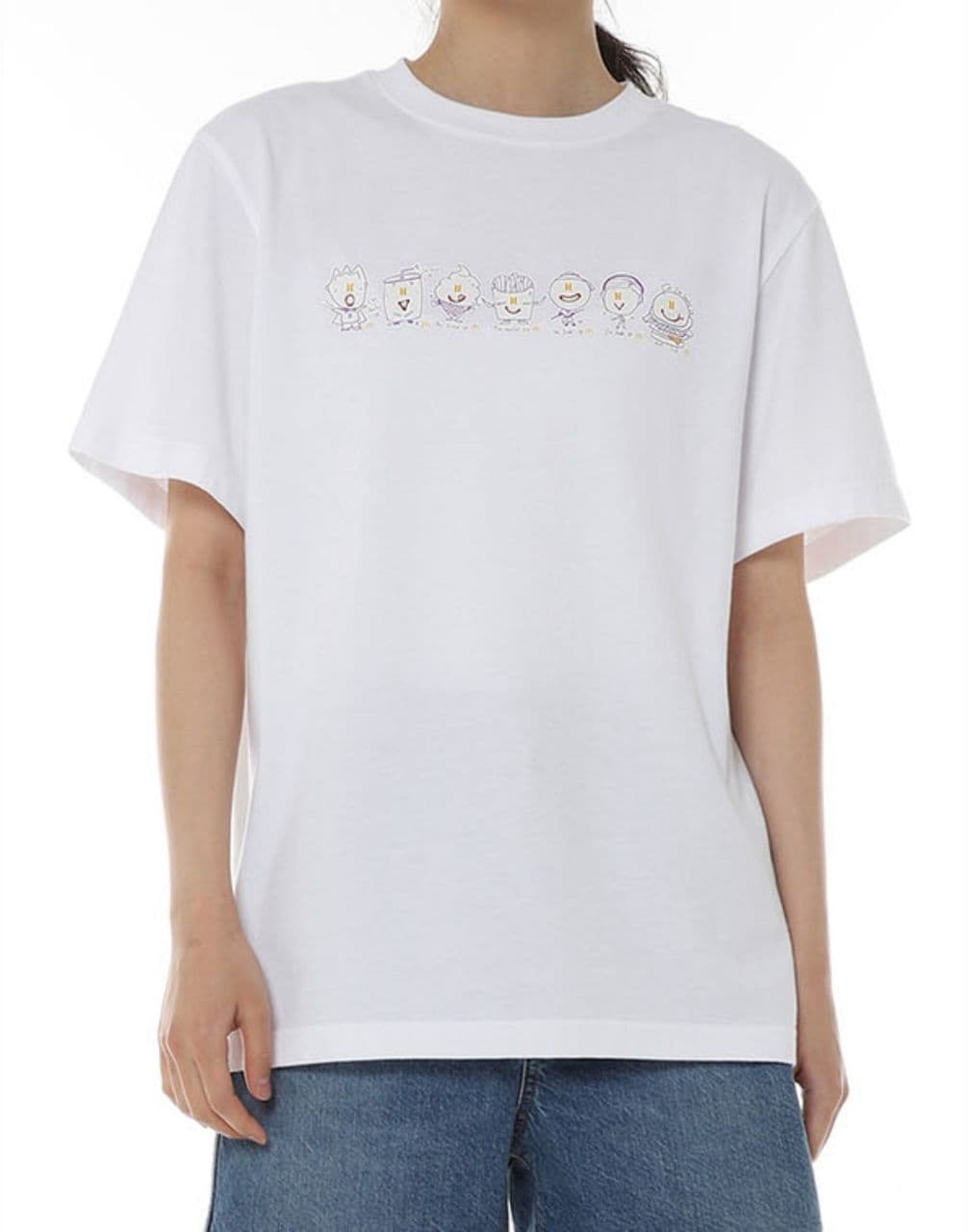bts mcdonald collection - saucy s/s t-shirt all characters