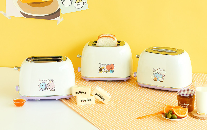 bt21 baby toasters - 3 versions