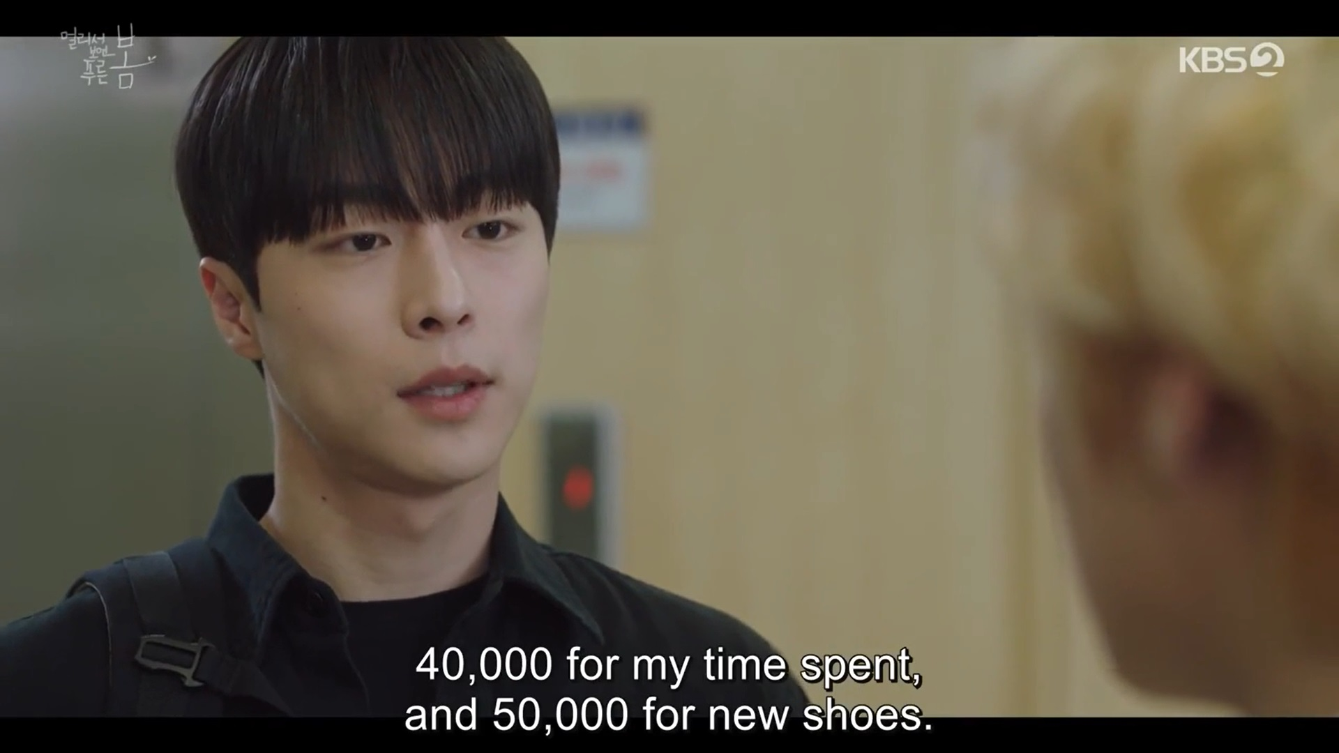 at a distance spring is green review - soo-hyun 2