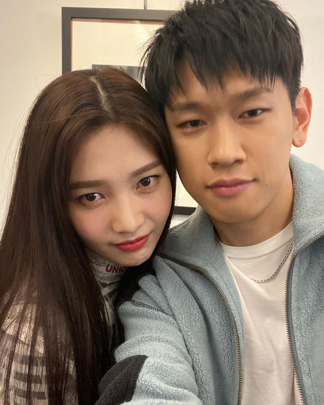 Joy and Crush confirmed to be dating - a selfie posted on joy's IG