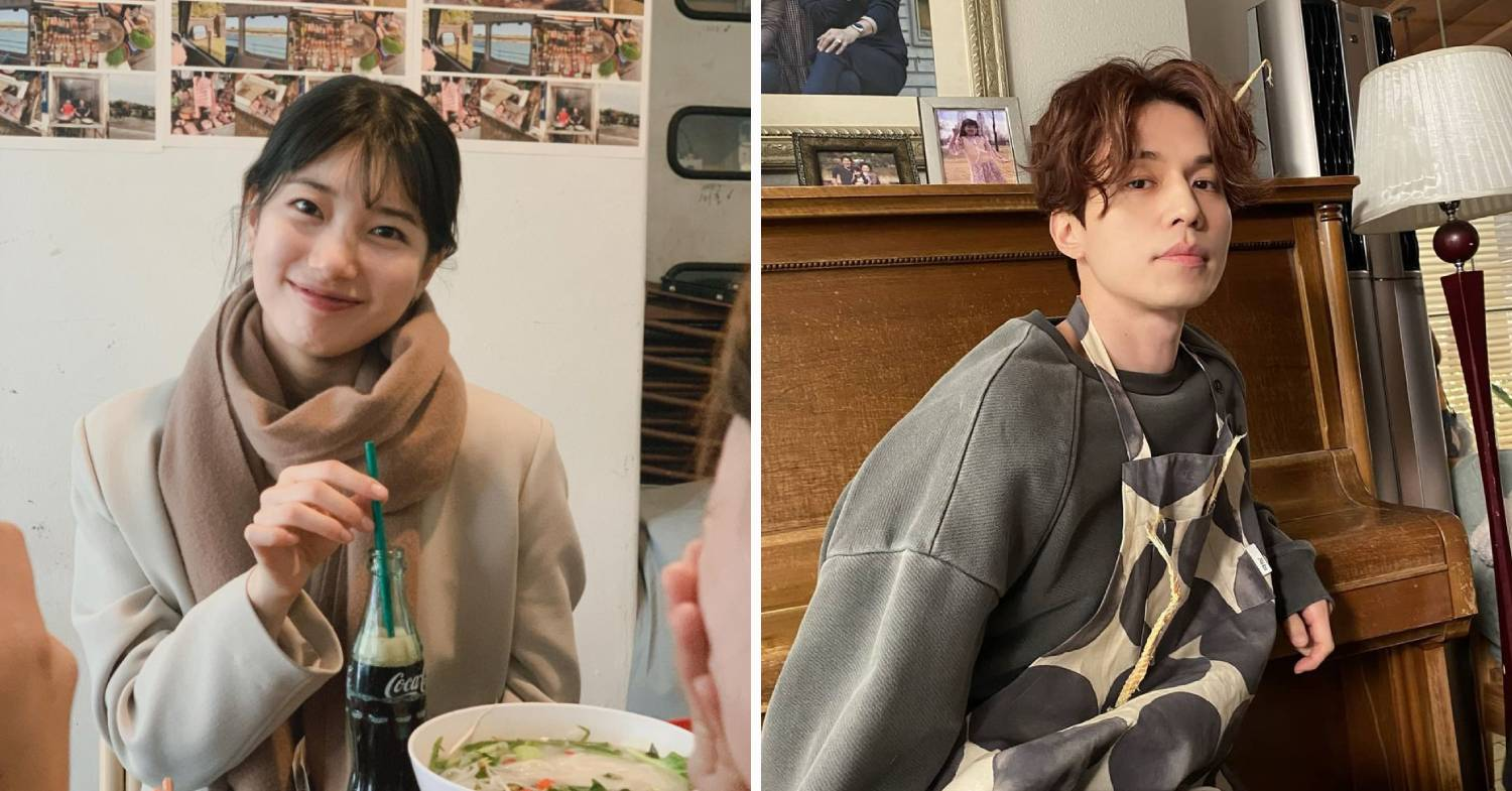 korean celebrity couples - suzy and lee dong-wook