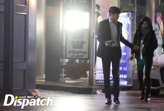 korean celebrity couples - suzy and lee min-ho on their date in seoul