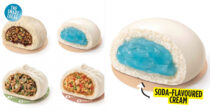 GS25 To Launch A Soda-Flavoured Steamed Bun, Looks Like Toothpaste Stuffed In Bread
