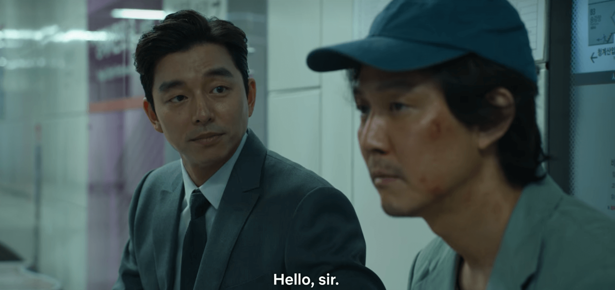 Squid Game Review - gong yoo makes a surprise cameo