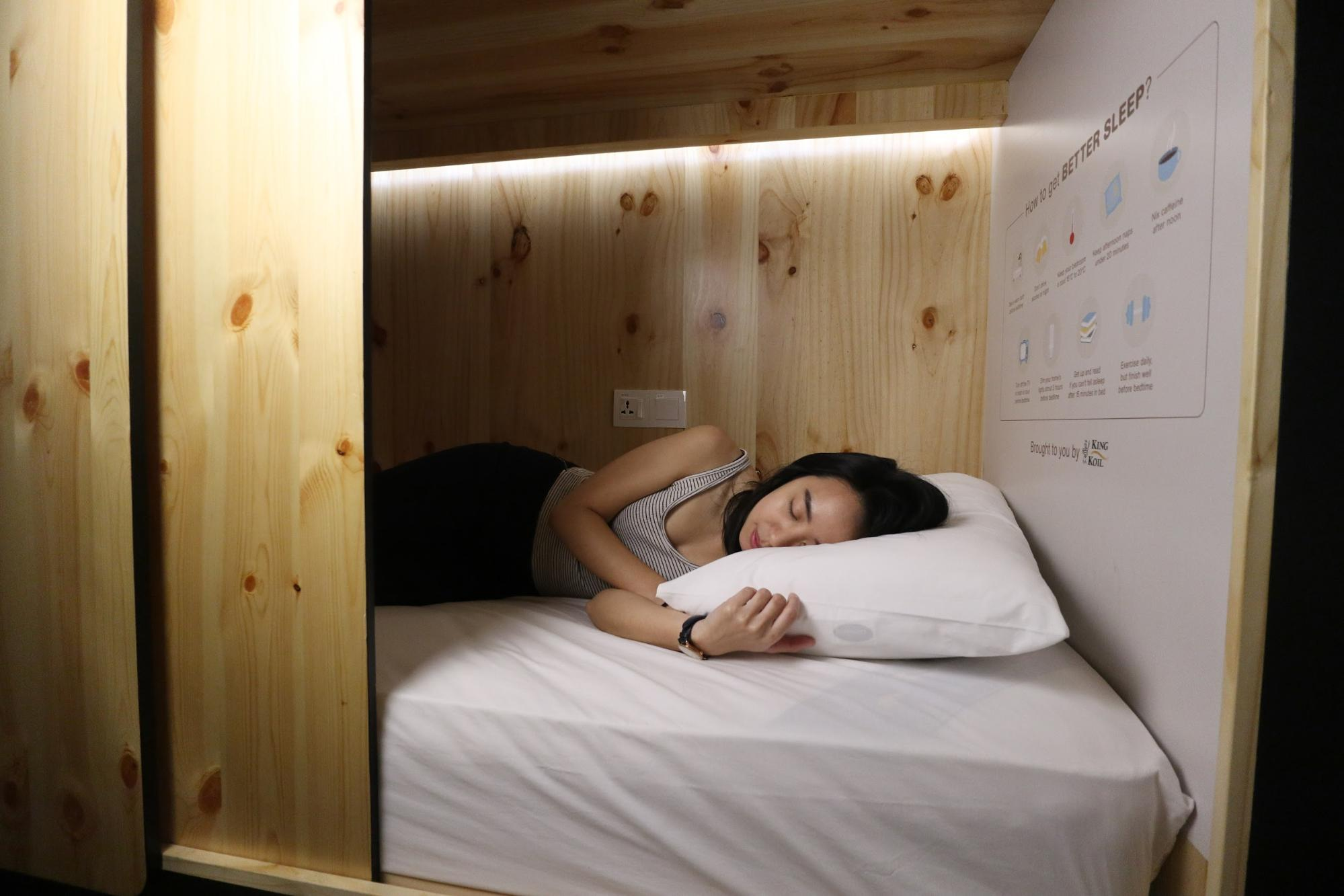 Co-labs nap pods