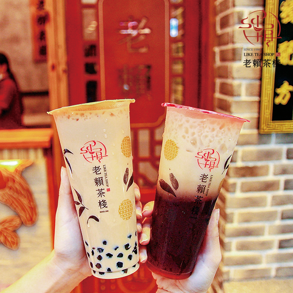 Soy milk boba from Like Tea