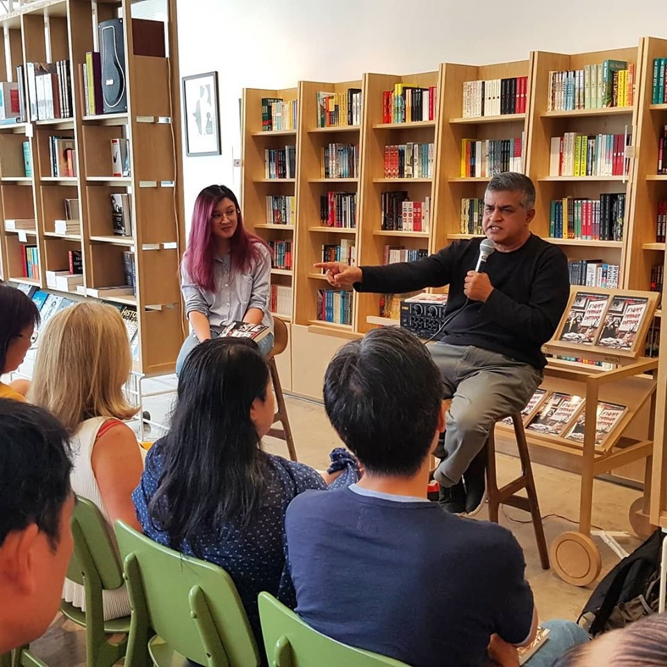 Meet-the-author session with Zunar