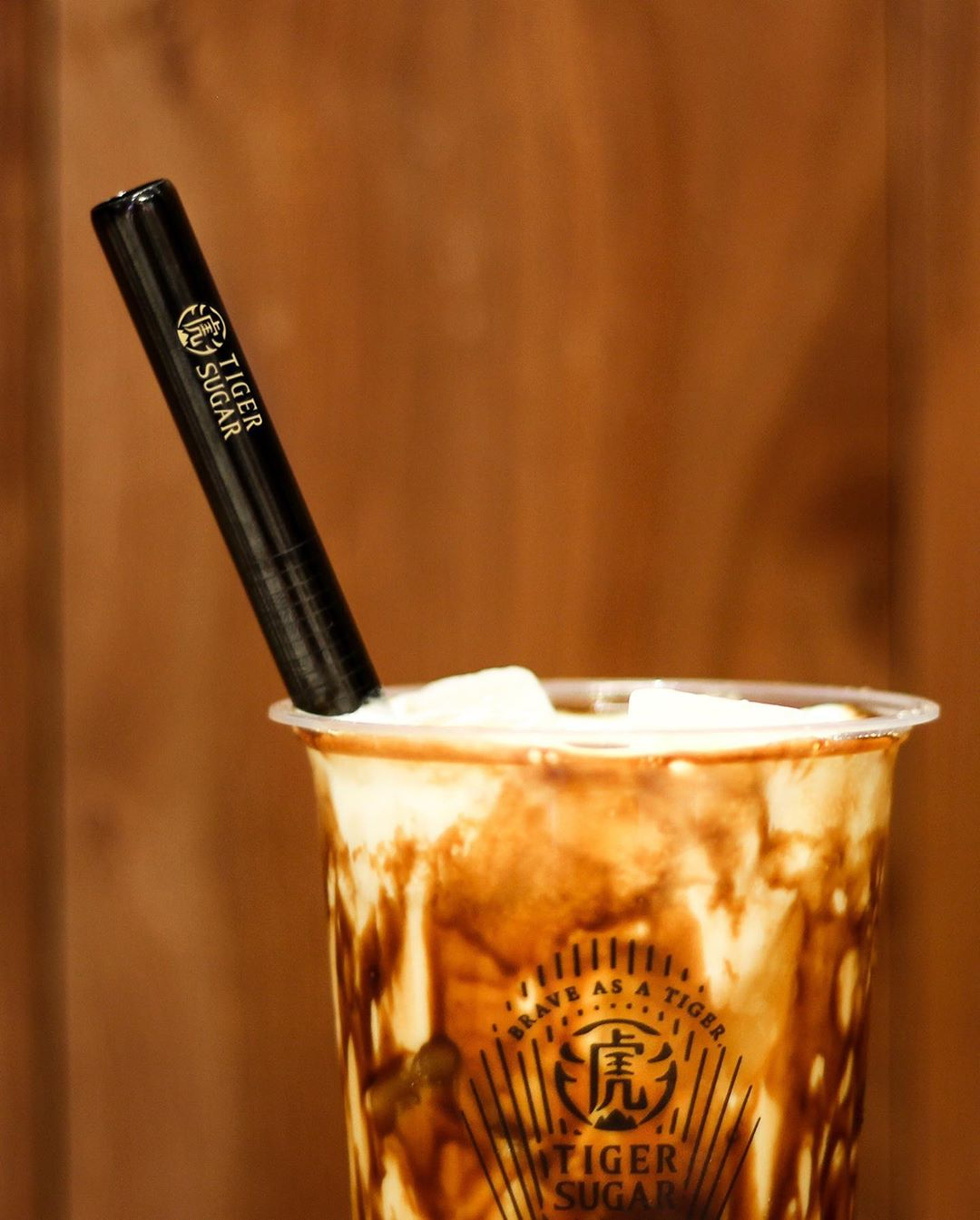 Tiger Sugar Metal Straw