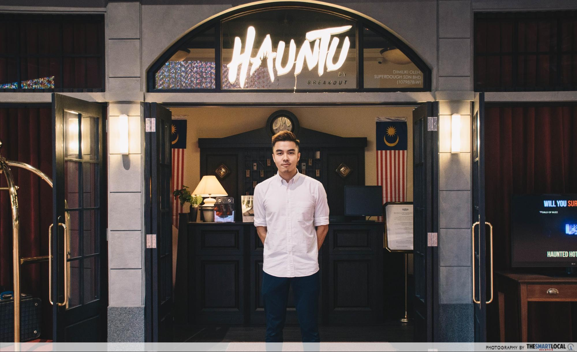Hauntu co-founder