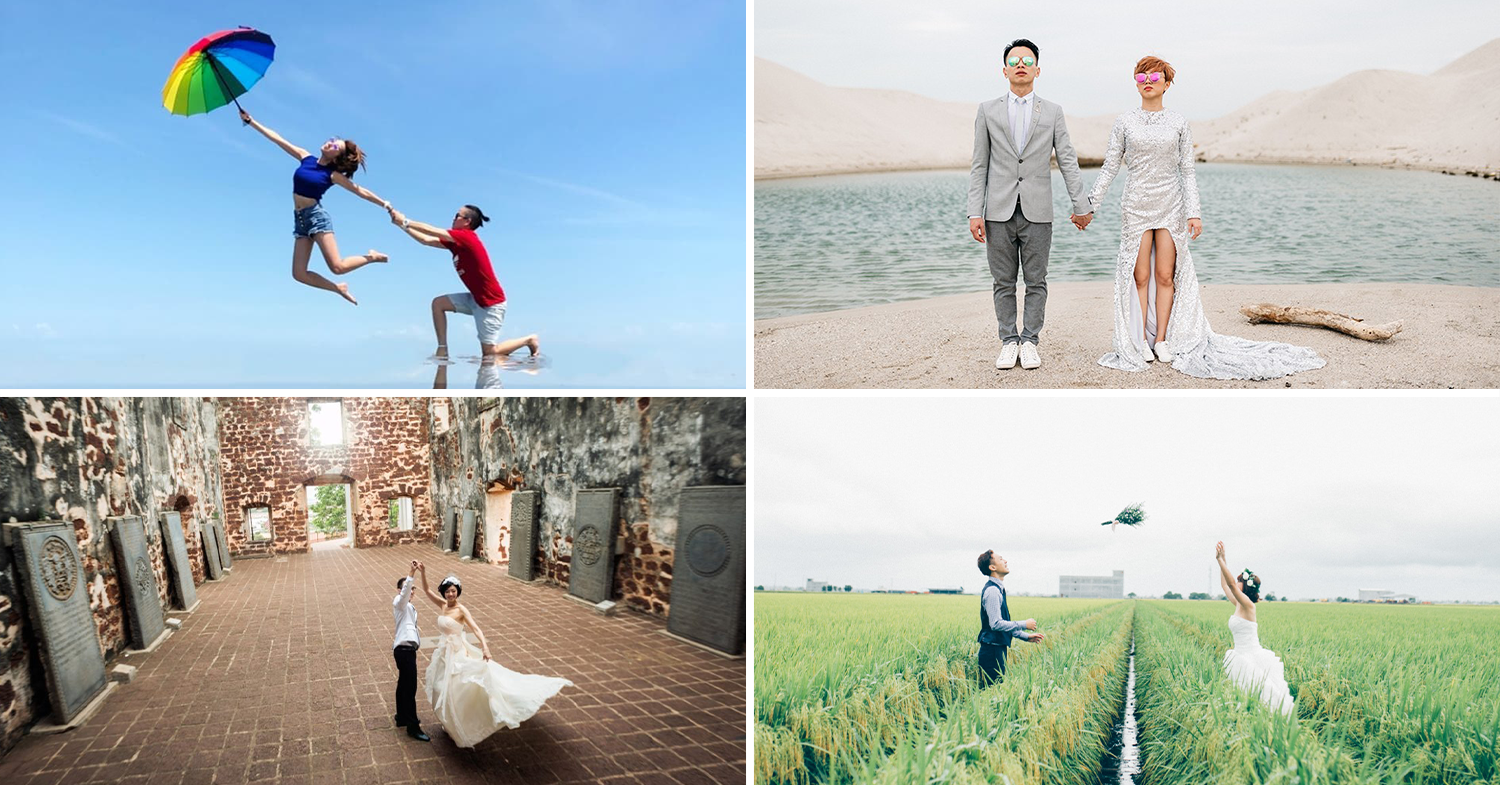 11 Free Cheap Outdoor Wedding Photoshoot Spots 2 Hours From Kl For Dreamy Couple Shots Thesmartlocal Malaysia Travel Lifestyle Culture Language Guide