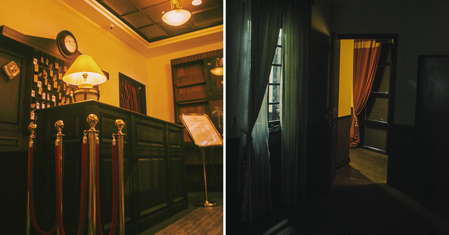 Hauntu interior collage