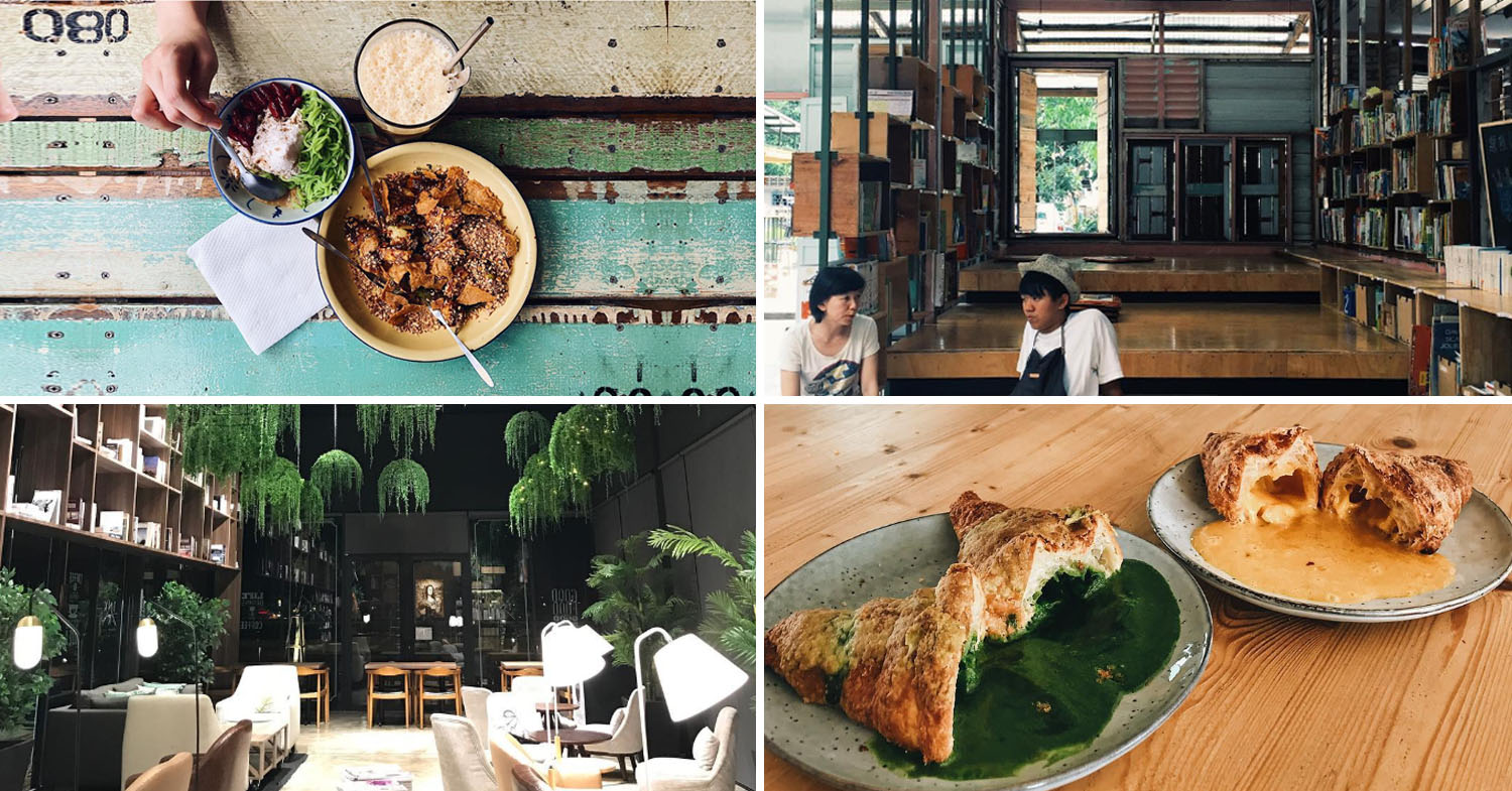 Book cafes in Klang Valley