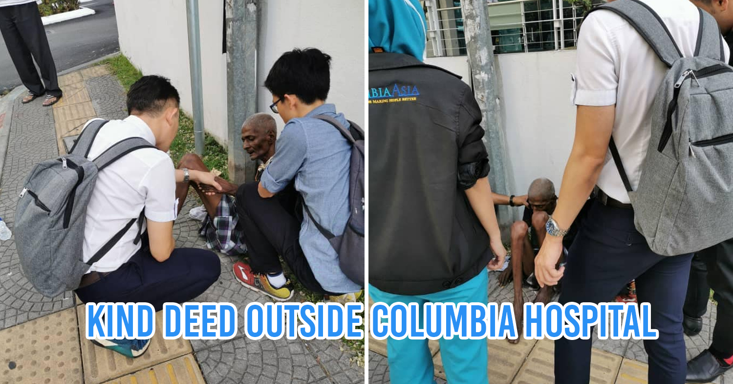 Good Deed Outside Columbia Hospital