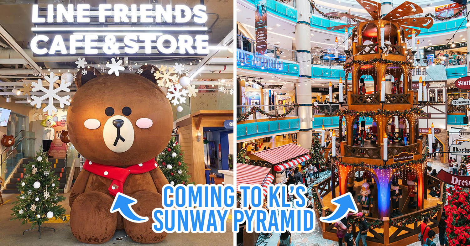 LINE Friends Pop-Up Store Is Here At Sunway Pyramid In ...