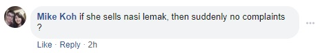Supportive comment (2)
