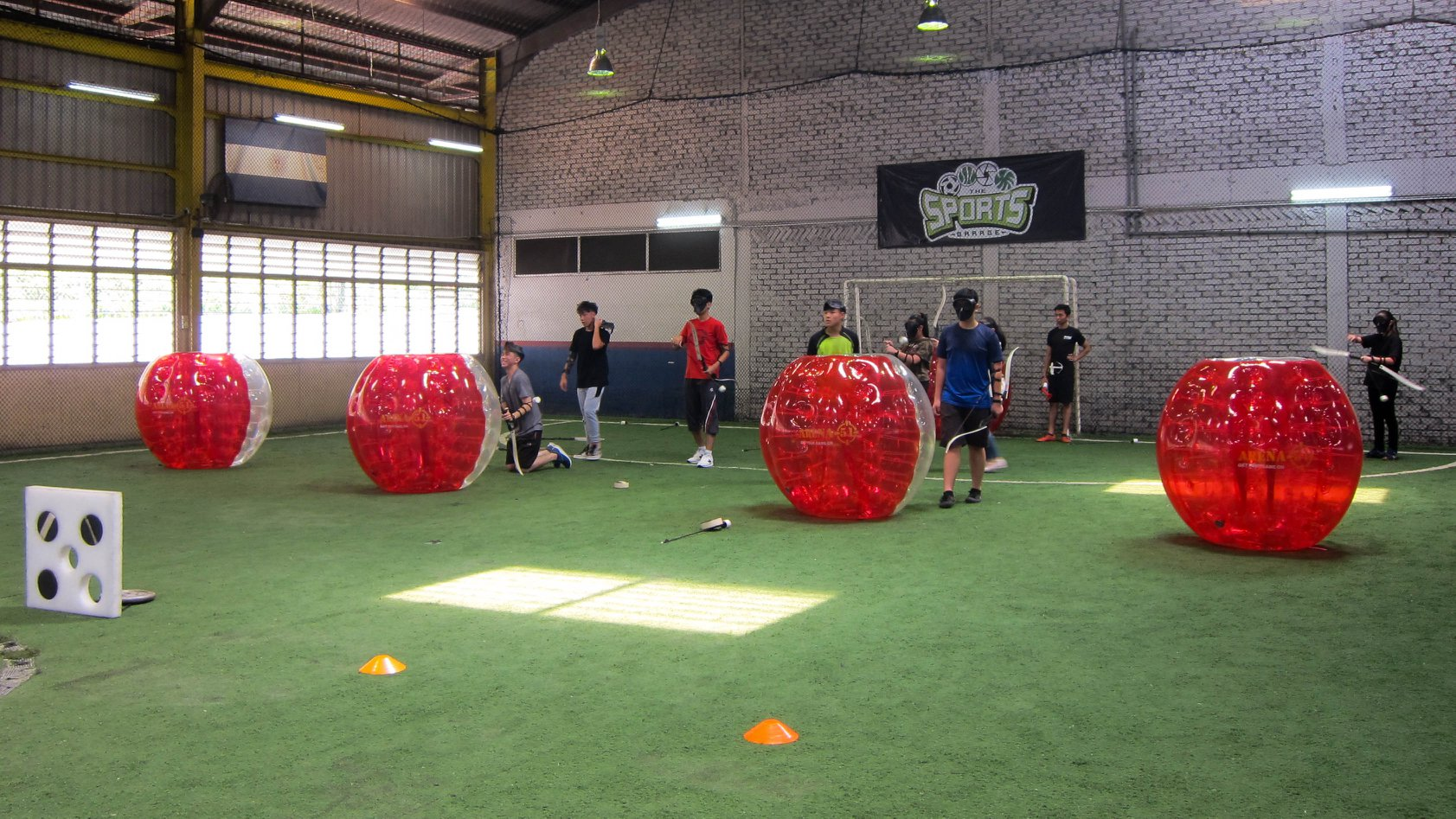 Bubble football (2)