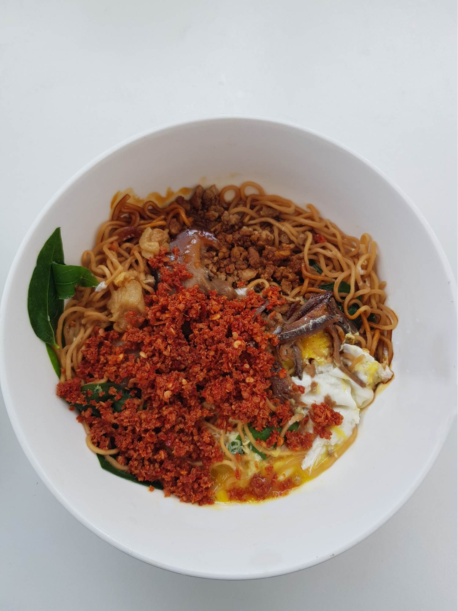 My Comfort Food Restaurant - chilli pan mee