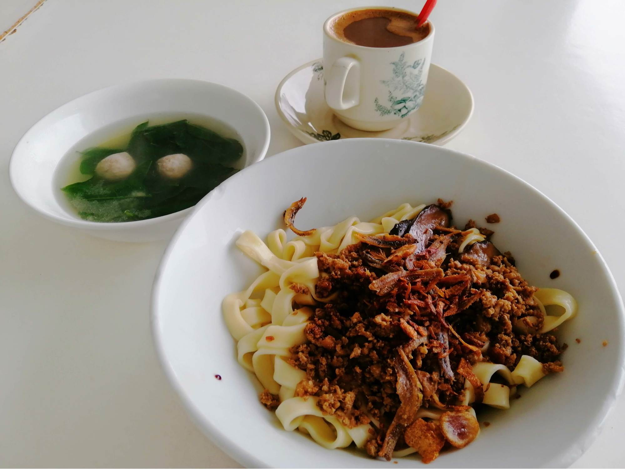 My Comfort Food Restaurant - kopitiam pan mee