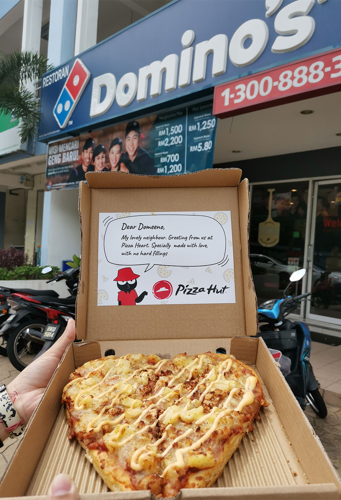 Delivery to Domino's