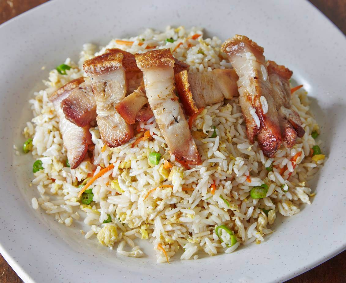 Hinz Kitchen - char siew fried rice