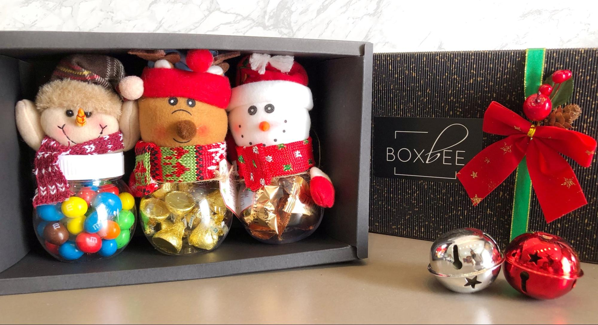 BoxBee Christmas-themed subscription boxes
