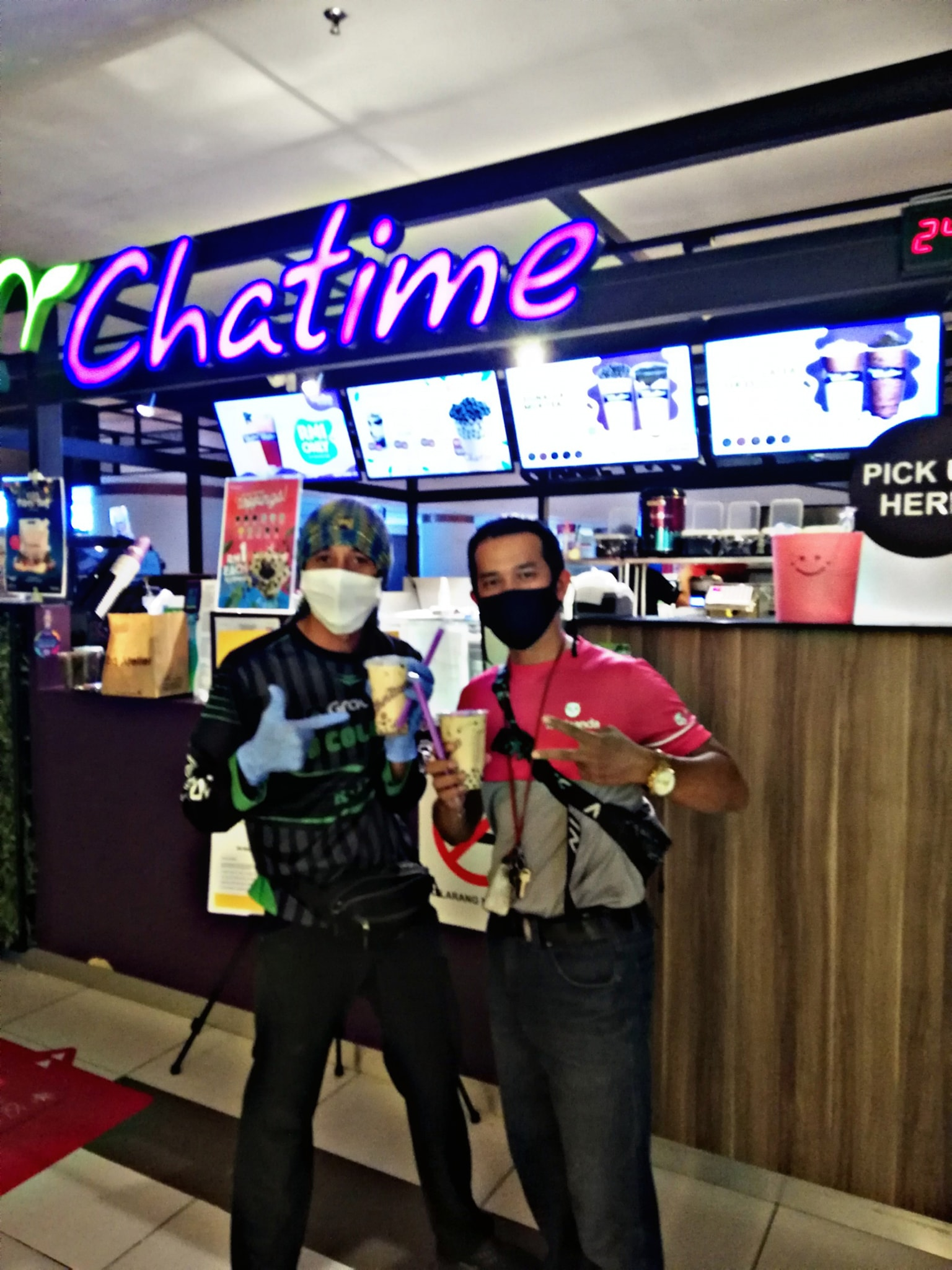 Riders at Chatime