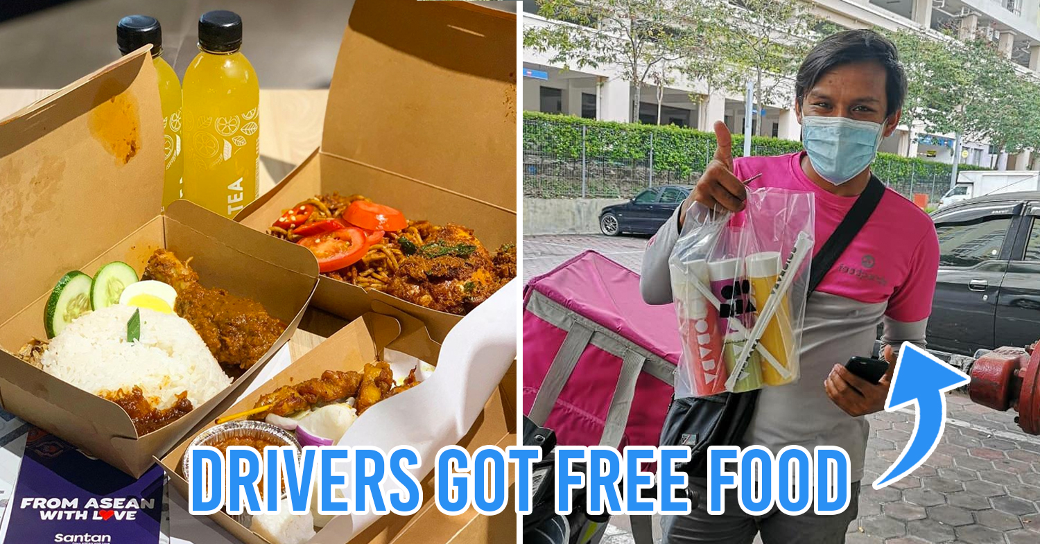 Msians show thanks to food delivery drivers