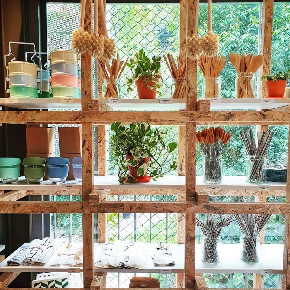 The Botanist Green Cafe eco-friendly goods