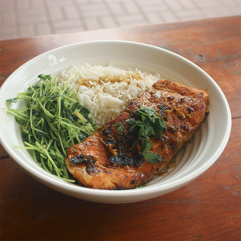 MyGroser Salmon Rice Bowl