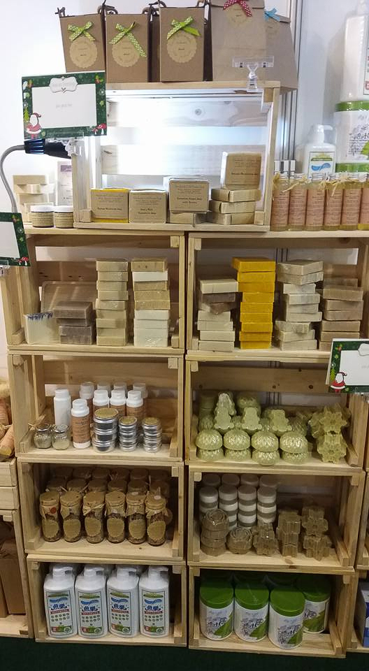 ieCo BYOC Concept Store soaps