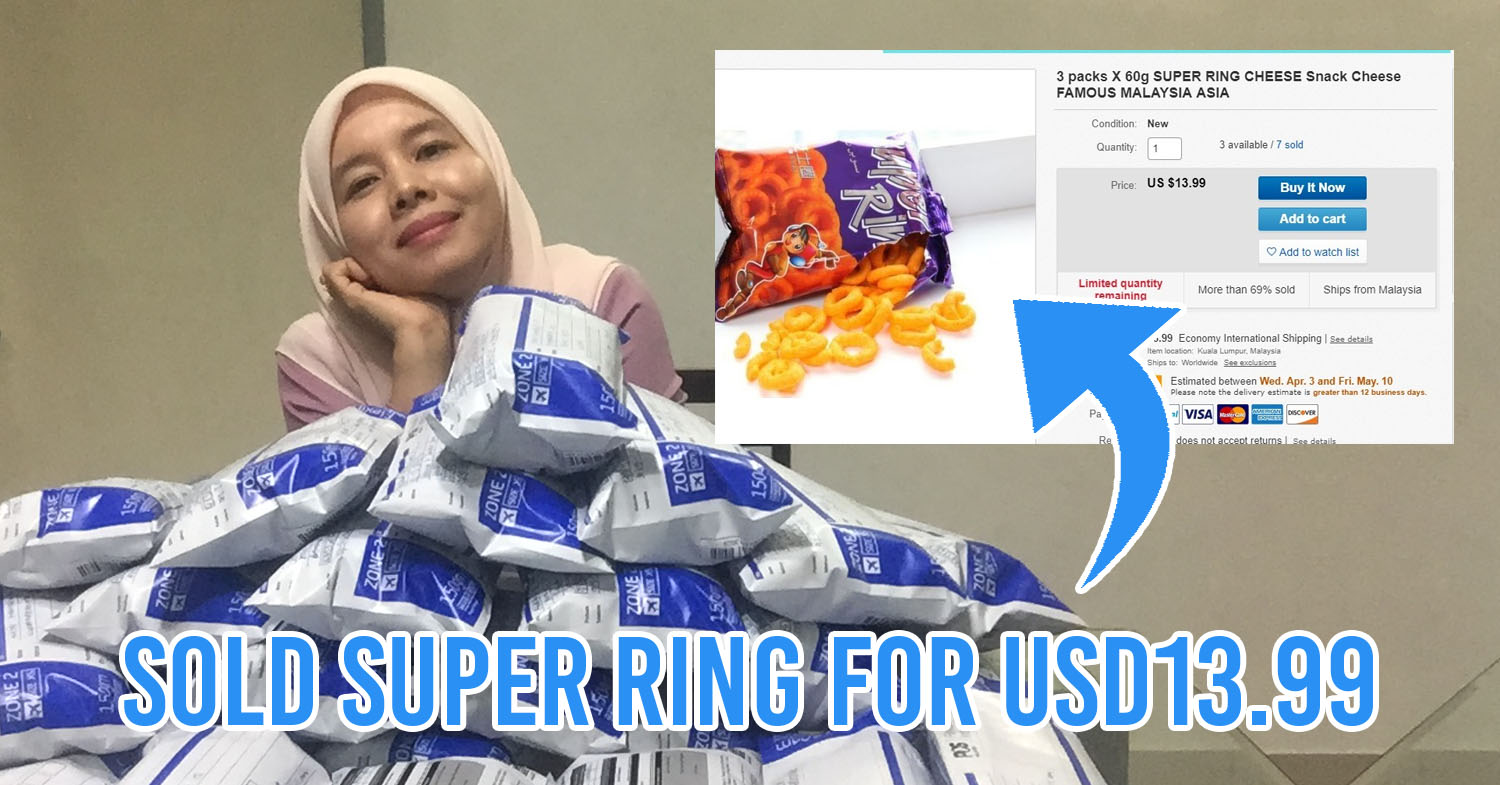 M'sian housewife sells Super Ring for RM60