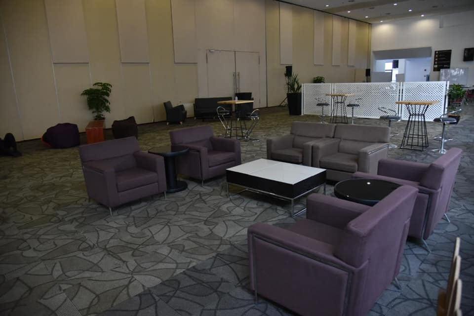 Lounge for patients and staff