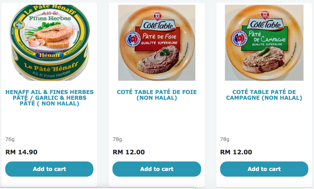 The Little Mart pate spreads