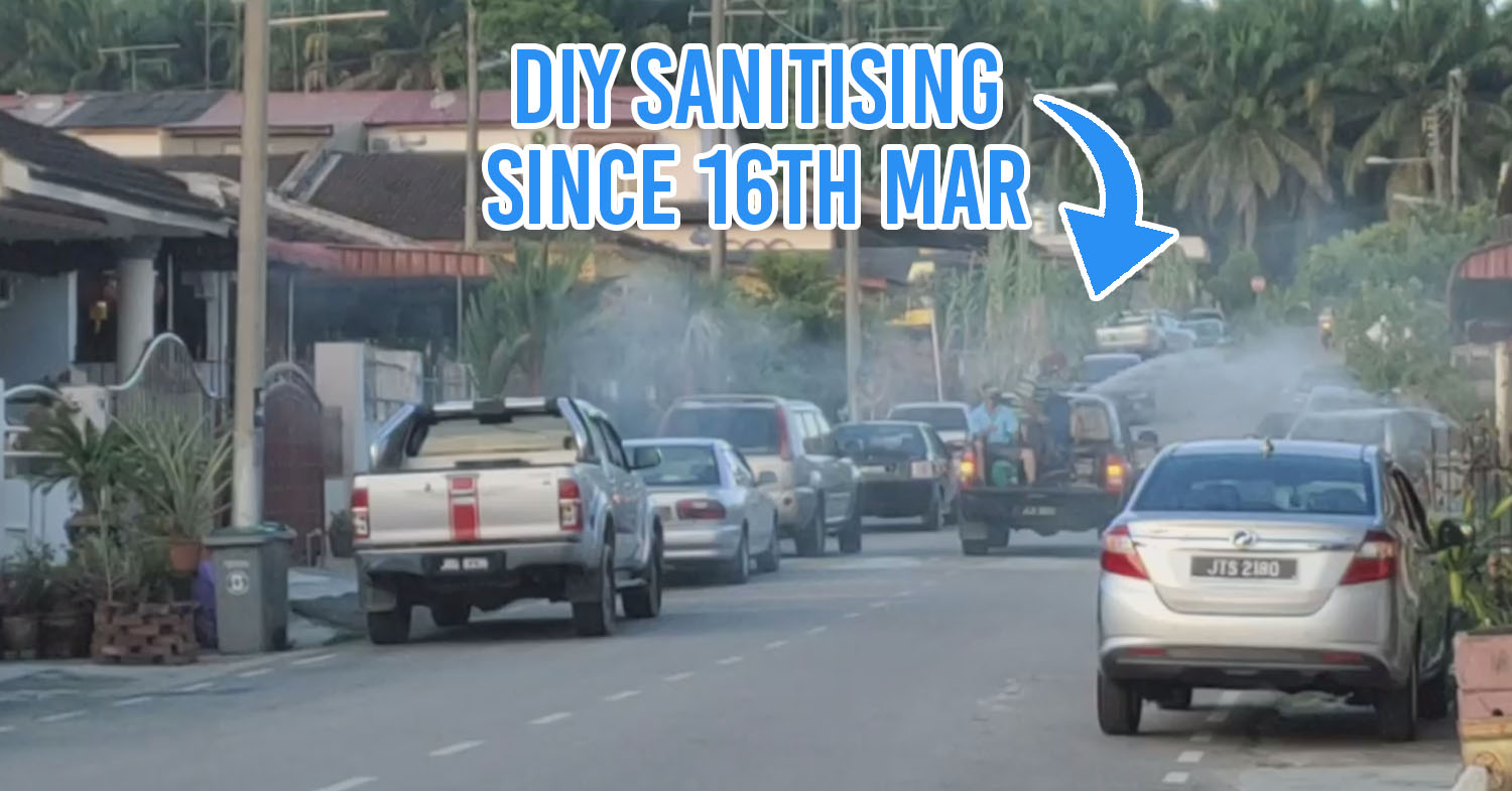 Johor brothers sanitise streets for community