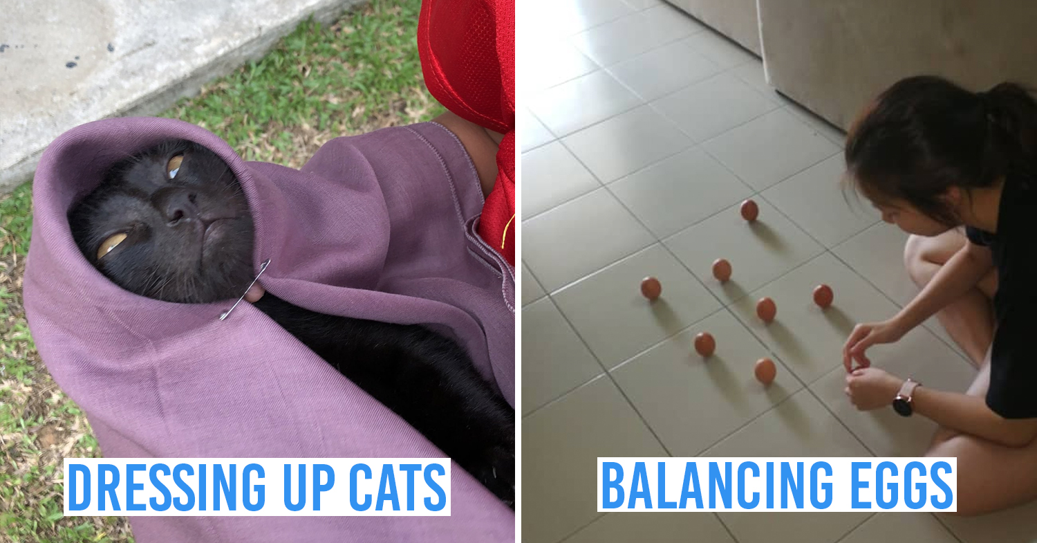 Funny things Malaysians do while staying at home