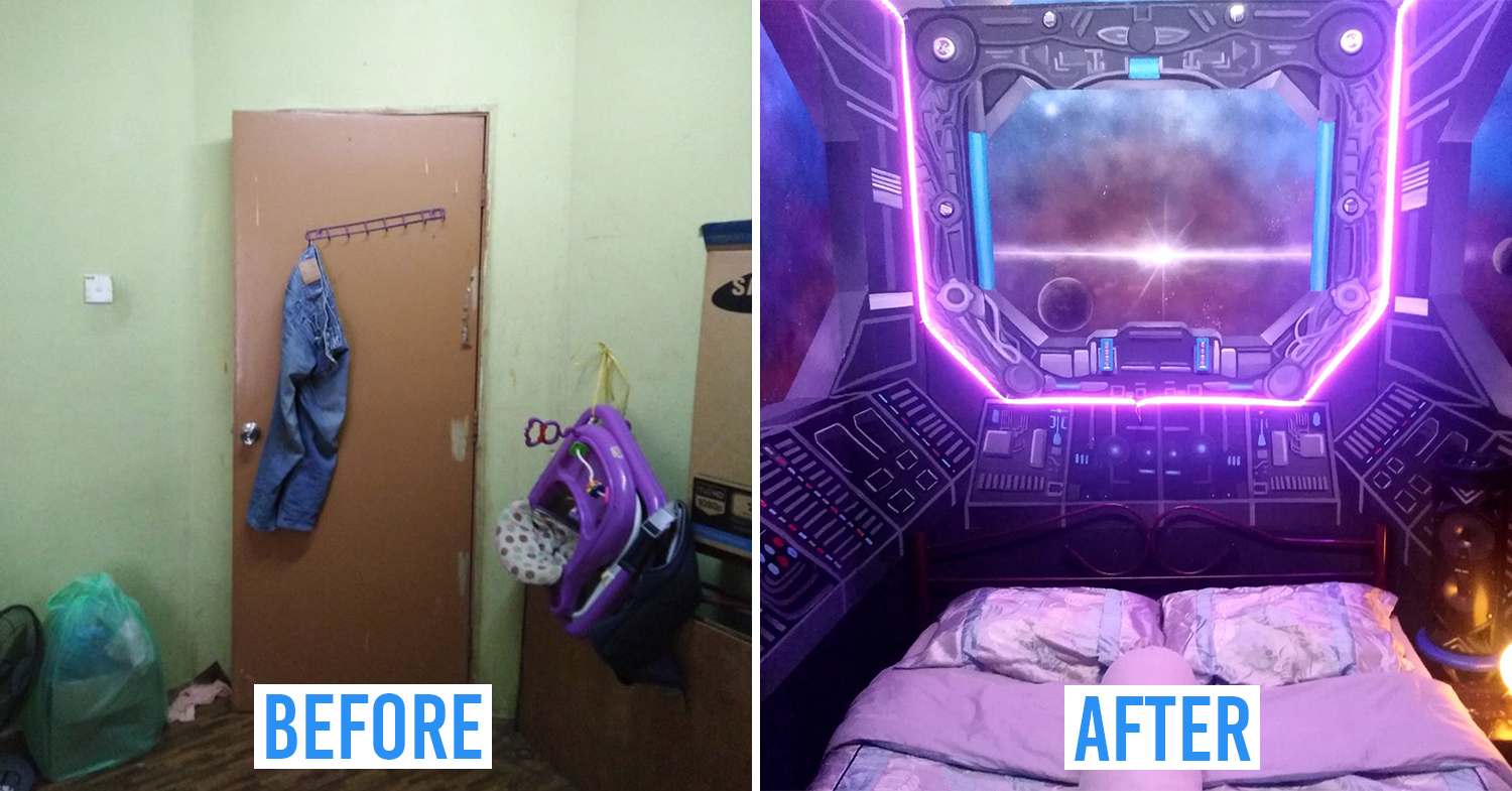 Spaceship room cover pic