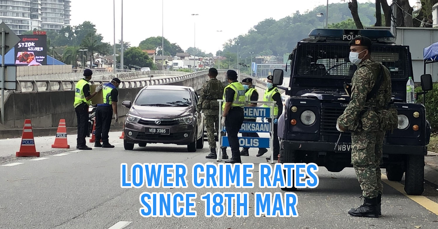 lower crime rates in kl
