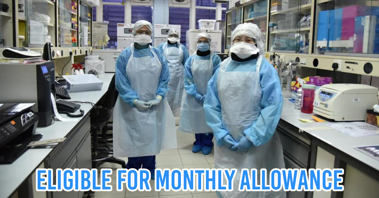 medical frontliners eligible for monthly allowance cover pic