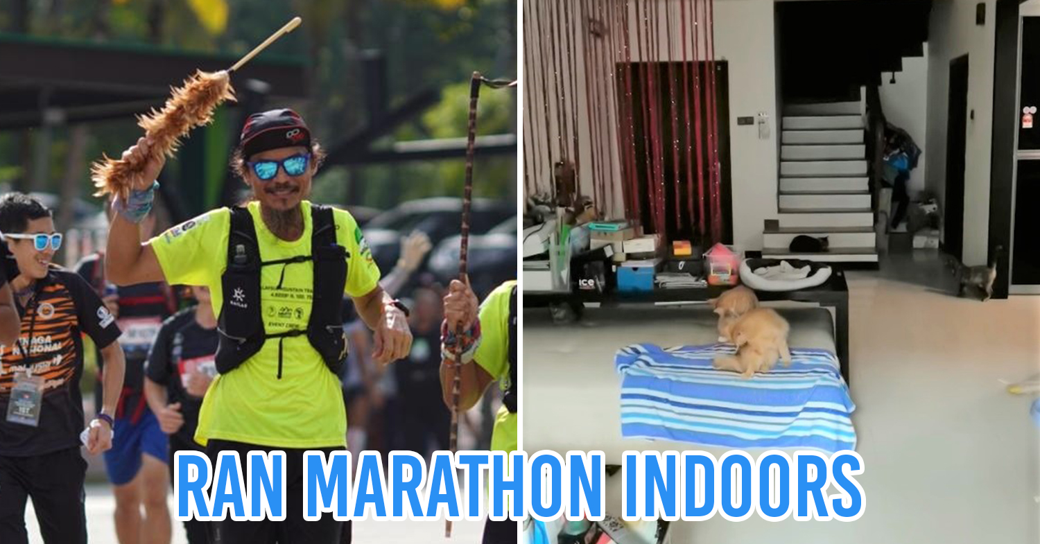 Uncle Yim marathon during MCO cover pic