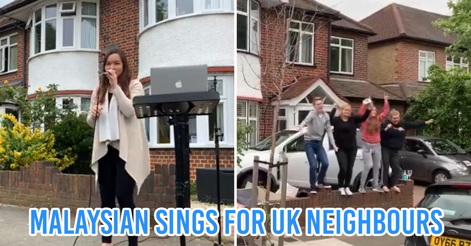 m'sian woman in uk sings to neighbours cover pic