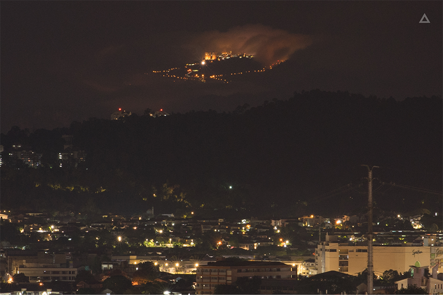Genting seen from Ampang