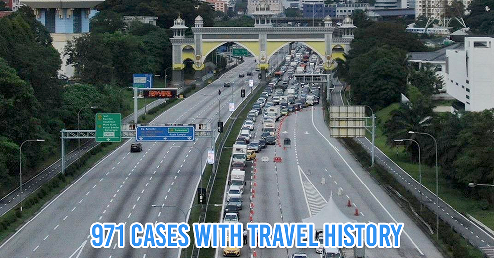 Cases from interstate travel in Malaysia