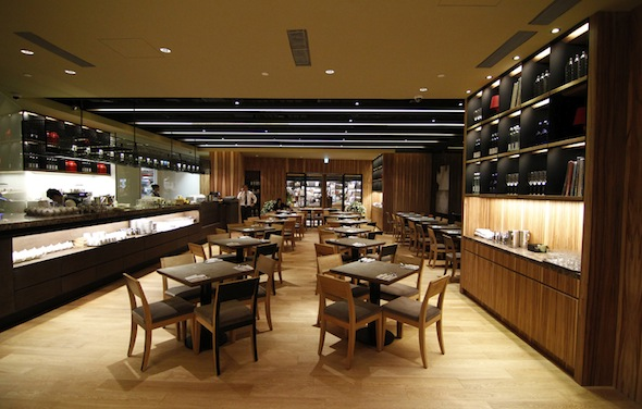 Tea Room at Eslite Bookstore in Taiwan
