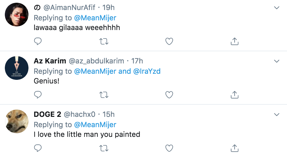 Twitter comments 1