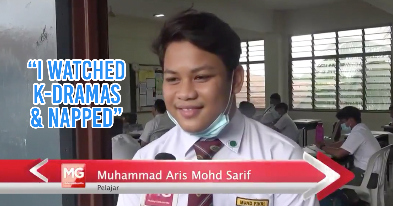 Malaysian student goes viral for honesty on news programme