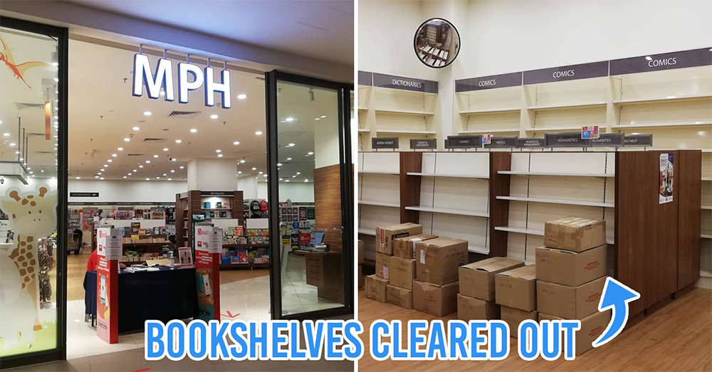 MPH Bookstore outlets are closing in Malaysia