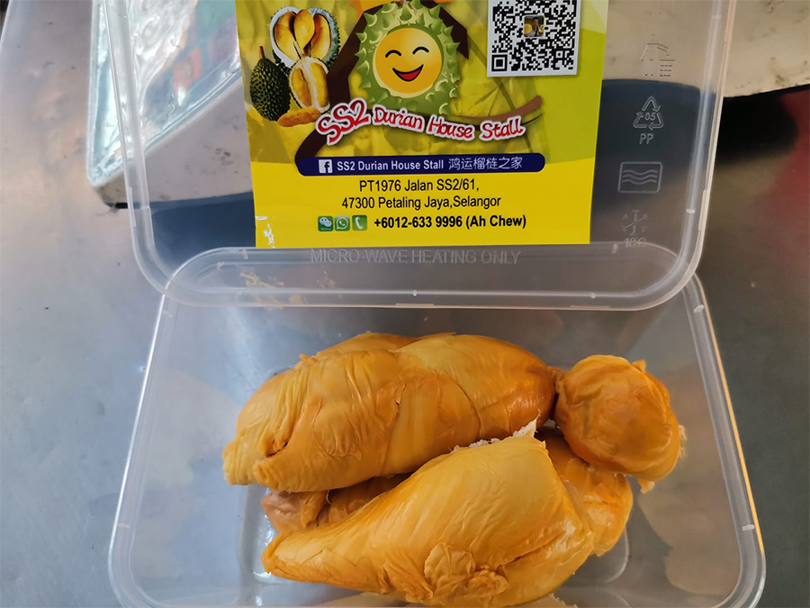 SS2 Durian House Stall