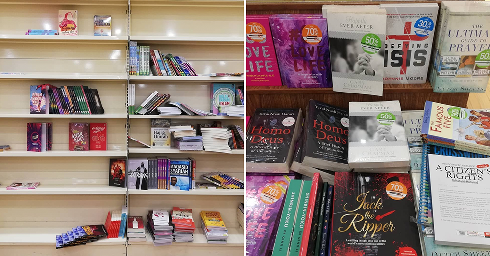 Emptying bookshelves and massive discounts at MPH Bookstore