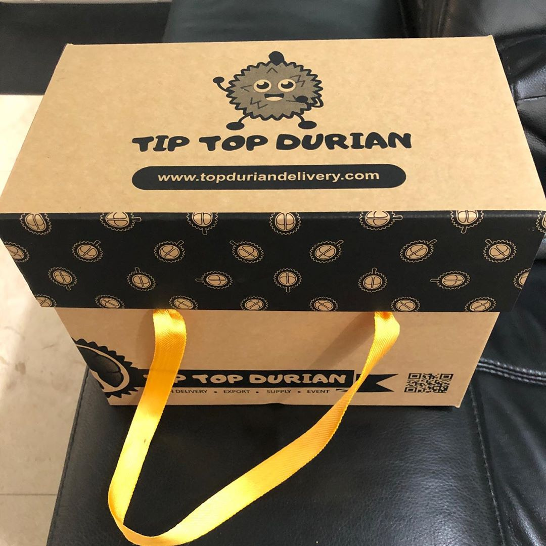 Tip Top Durian boxes
